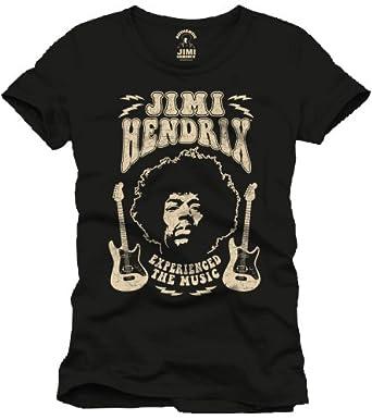 Jimi Hendrix T-Shirt Experienced The Music Größe M