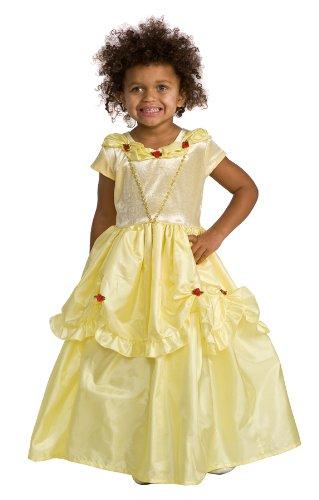 Belle Princess Dress with Wondercharms Necklace - LARGE (5-7)