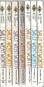 7 Sally Wentworth - The Judas Kiss, Summer Fire, King of