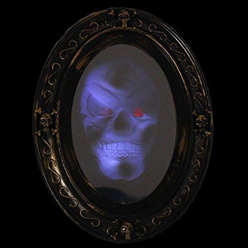Halloween props/Halloween Horror Mirror luminous voice/Bar masquerade supplies decorative (Very Scary Halloween)