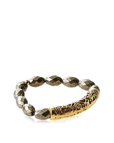 Gemelli Tribal Bar Bracelet