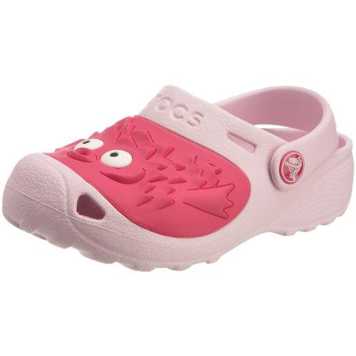 Crocs Toddler/Little Kid Blowfish Clog,Bubblegum,6-7 M US Toddler