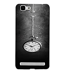 PrintVisa Clock Time Design 3D Hard Polycarbonate Designer Back Case Cover for Vivo X5 MAX