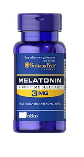 Fierté Mélatonine 3 mg de Puritan - 240