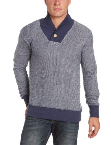 Jack and Jones Otawa Men's Sweatshirt Navy Blue X-Large