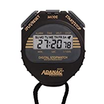 MARATHON ST083009 Adanac 4000 Digital Stopwatch Timer with Extra Large Display and Buttons Water Resistant Two Year Warranty