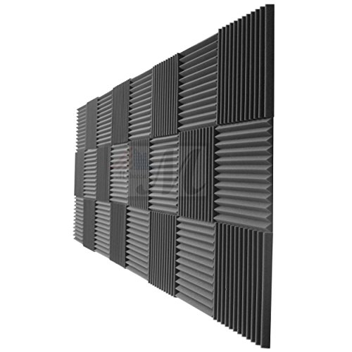 mybecca-acoustic-foam-panels-1-x-12-x-12-studio-soundproofing-wedges-24-pack