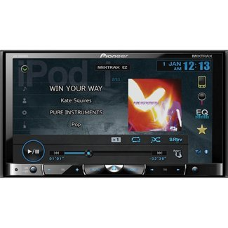 Pioneer AVHX8500BHS Double-DIN Multimedia DVD Receiver With Bluetooth And HD Radio