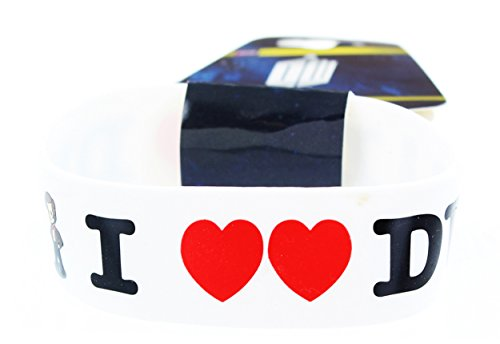 Doctor Who: Wristband - I Heart Heart The Doctor