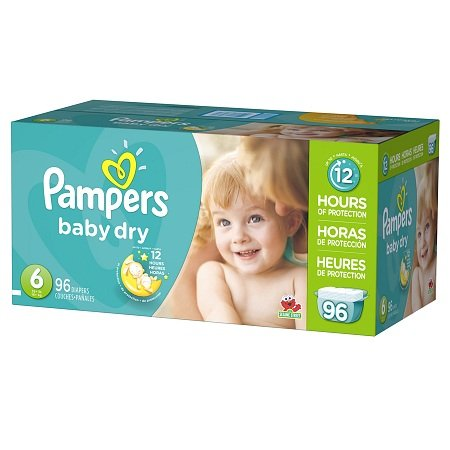 Pampers Giant Pack front-731732