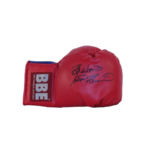 Frank Bruno Signed Boxing Glove