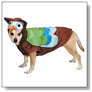 Zack & Zoey Cute Hoots Costume for Dogs, Medium