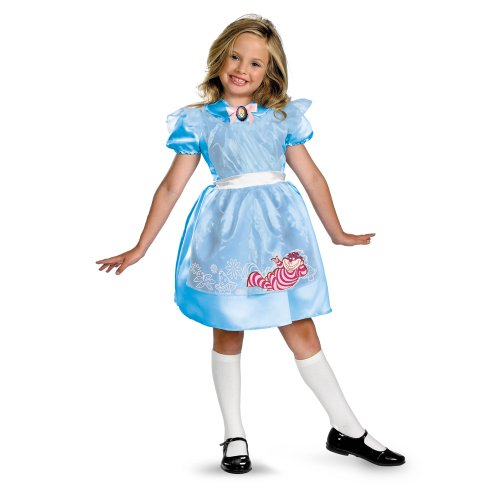 Alice In Wonderland Classic Costume Size: 3T-4T