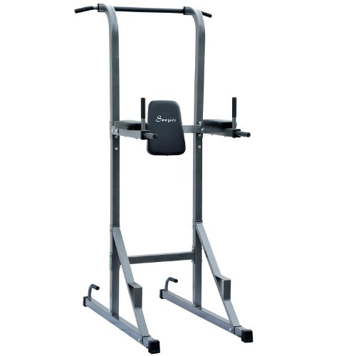Soozier Fitness Power Tower w/ Dip Station & Pull Up Bar (Pull Up Bar Stand compare prices)