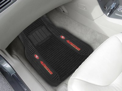 FANMATS NFL San Francisco 49ers Nylon Face Deluxe Car Mat at Amazon.com