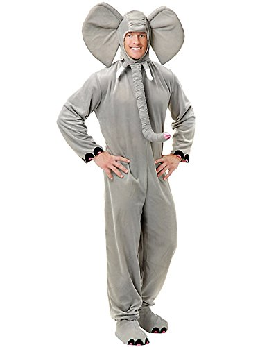 Charades Costumes Men's Elephant Adult Costume