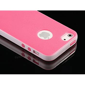 1pc Style Hard Case Cover for Apple iPhone 5 5G + Screen Protector