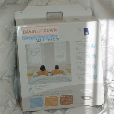 50/50 Goose Down Duvet 4.5 Tog King Size *** Stock Clearance One Time Special Offer ***