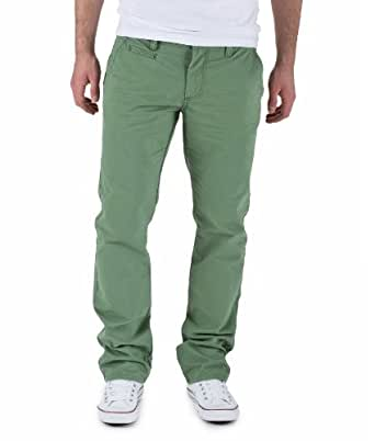 "Selected Herren Chino ""THREE PARIS"" hedge green Größe 36W / 34L"