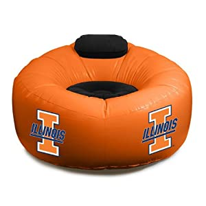 Buy Northwest Illinois Fightin Illini Inflatable Air Chair by Northwest