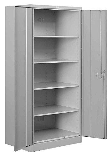 Salsbury Industries Standard Heavy Duty Storage Cabinet, 78-Inch by 18-Inch, Gray mitsubishi heavy industries srk25zjx s src25zjx s