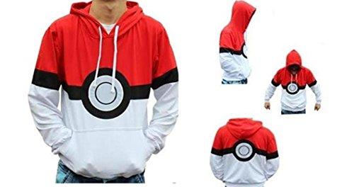 Pokemon Pokeball Hoodie Medium