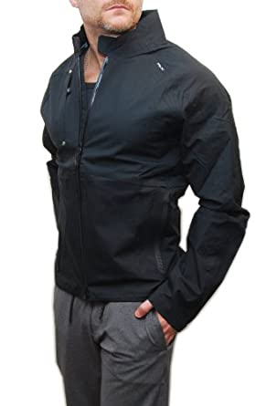 Buy Ralph Lauren RLX Mens Waterproof Athletic Running Workout Gym Rain Jacket Black by RALPH LAUREN