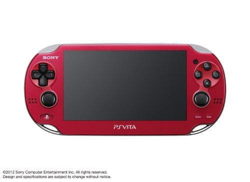 PlayStationVita 3G/Wi-Fiモデル コズミック・レッド 限定版 (1100 AB03)