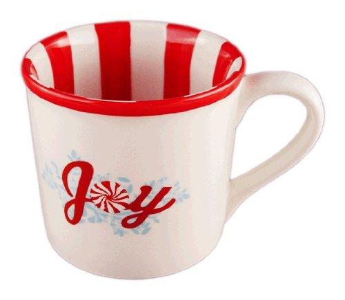 Starbucks Holiday STRIPE SWEETS JOY Coffee Mug 14 oz