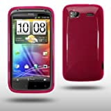 HTC SENSATION / HTC SENSATION XE GEL CASE BY CELLAPOD CASES HOT PINKby CELLAPOD