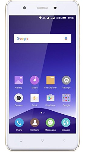 Mobistel F105-GO Cynus F10 12,7 cm (5 Zoll) Smartphone (1,3 GHz QC, 16GB, DS, LTE, Android 5.0) gold