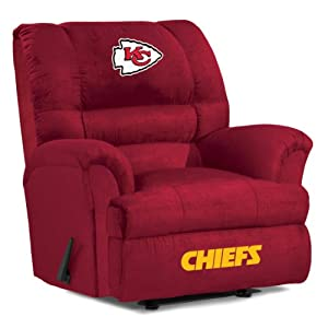 NFL Kansas City Chiefs Big Daddy Microfiber Recliner by Imperial