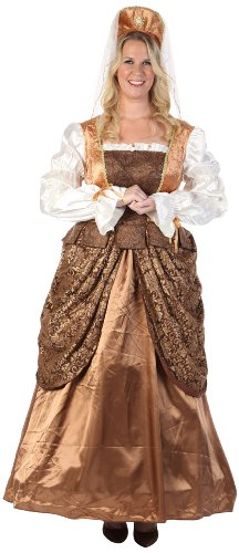 HGM Costume Women's Plus-Size Lady Renaissance