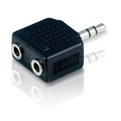 PANMARI Risches 3.5mm 1 bis 2 Kopfhörer-Kopfhörer-Jack-Teiler-Adapter