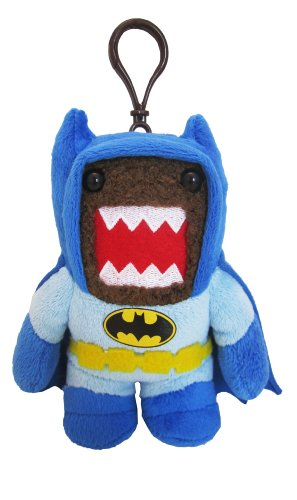 Domo Batman Clip On Plush, Blue - 1