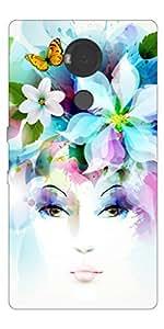 Go Hooked Designer YU Yureka Note Designer Back Cover | YU Yureka Note Printed Back Cover | Printed Soft Silicone Back Cover for YU Yureka Note