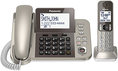 Panasonic KX-TGF350N DECT 1-Handset Landline Telephone