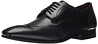 Ted Baker Men's Finbarr 2 Oxford, Black Leather, 9 M US