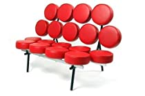Hot Sale Fine Mod Circle Sofa, Red