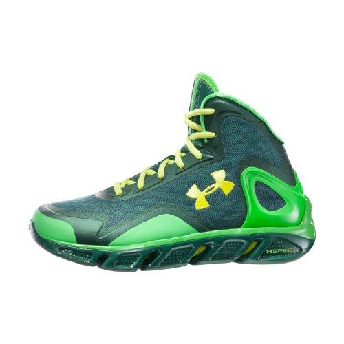 Under Armour Men s UA Spine    Bionic Basketball Shoes 10 PARROT GREENUnder Armour Basketball Shoes 2012