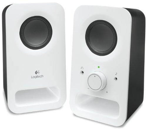 Logitech Multimedia Speakers Z150 With Stereo Sound For Multiple Devices, White