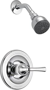 Delta Faucet B112900 Foundations Core-B, Core B Series Tub and Shower Trim with Foundations Rough-in, Chrome
