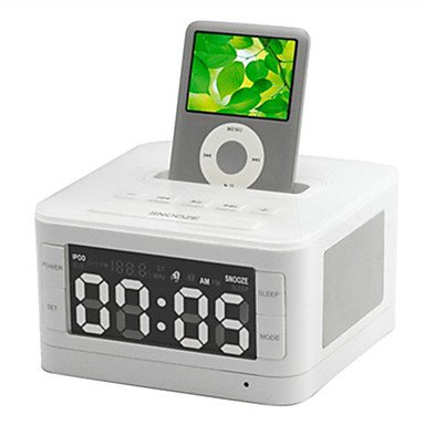 Zcl Hometime B7 Apple Iphone Speaker With Alarm Clock Radio Iphone Charging