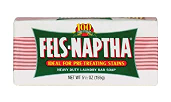 Dial 723154 Fels Naptha Laundry Bar Soap, 5.5oz Size (Pack of 24)
