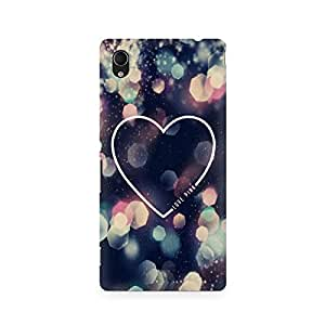 Ebby Love Pink Premium Printed Case For Sony Xperia M4