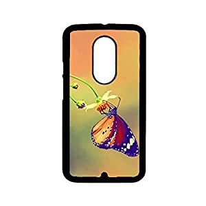 Vibhar printed case back cover for Motorola Moto X (2nd Gen) ButterflyNest
