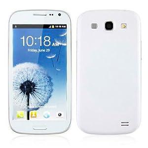 Teléfono libre I9300 Dual Core 4.0/3G/dual SIM Blanco Android