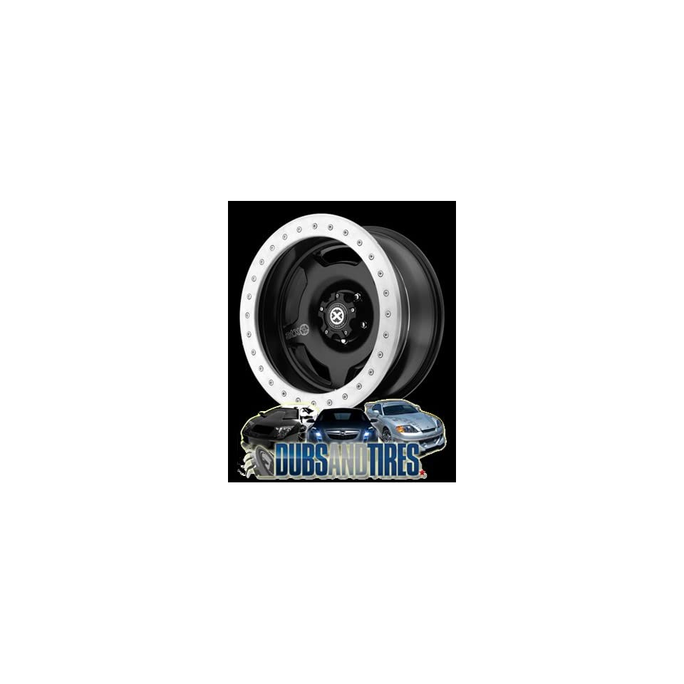17 Inch 17x9 AMERICAN RACING ATX wheels AX756 Satin Black wheels rims