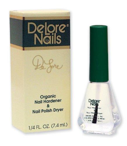 Delore for nails organic nail hardener and nail polish dryer 25