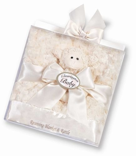 Lamby Blanket/Rattle Set